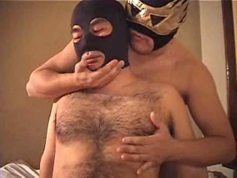 覆面レスラーVS覆面熊(リングをベットに変えて之巻) お尻の穴 ゲイ丸見え画像 111pic 75