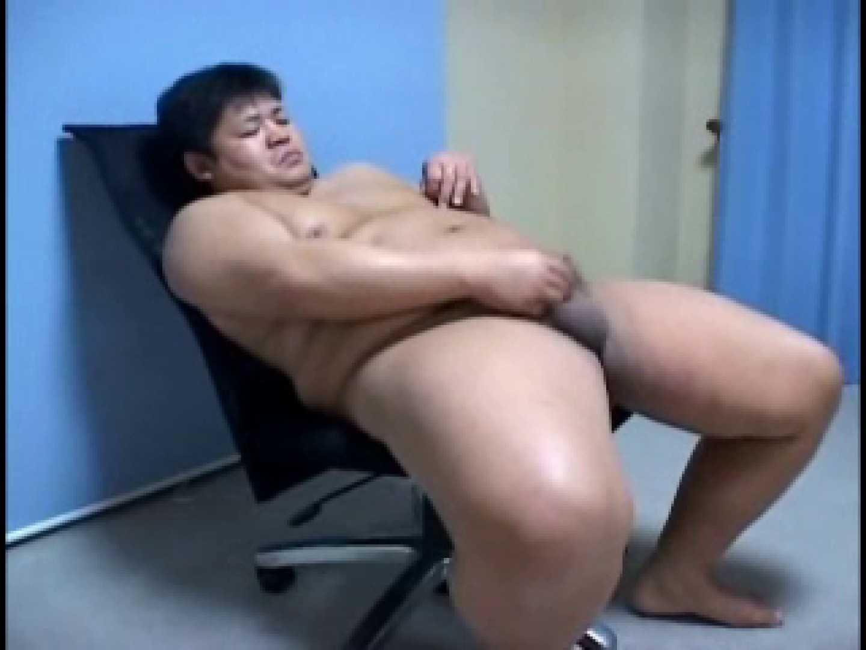 デブッチョ君の座オナニー&ファック!覆面介助つき お尻の穴   男・男 ゲイザーメン画像 97pic 1